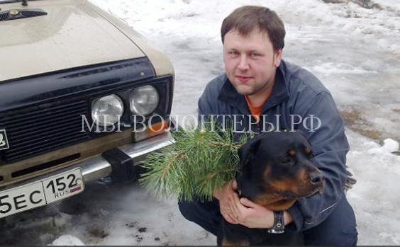 Житель Дзержинска через соцсети нашел пропавшую собаку