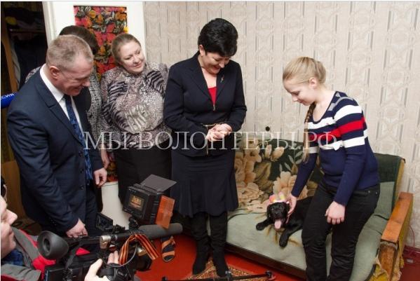 Путин подарил лабрадора5