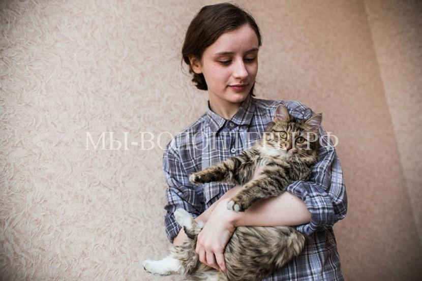 Школьница из Челябинска спасла кошку из вентиляционной шахты многоэтажки
