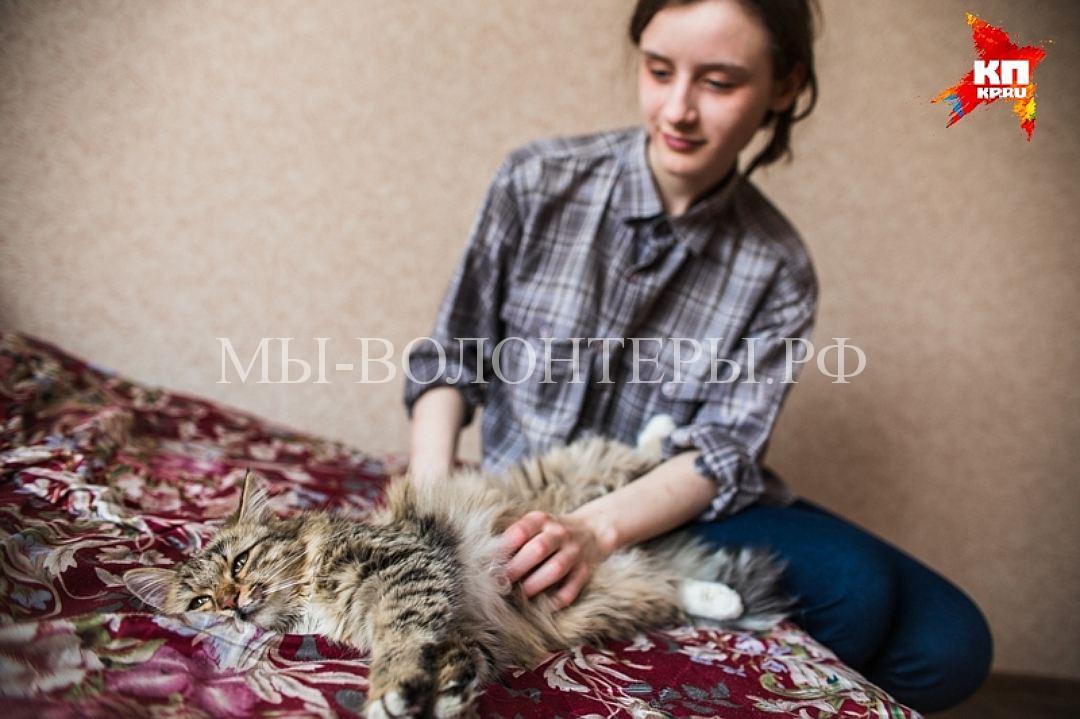 Школьница из Челябинска спасла кошку из вентиляционной шахты многоэтажки2