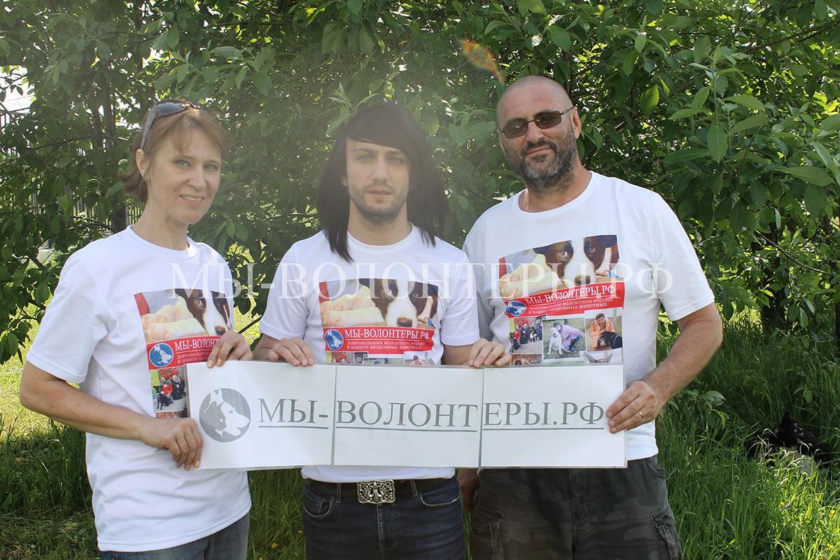 леван-тодуа-и-волонтеры-приюта-для-собак-щербинка-1