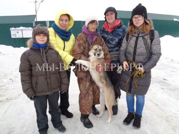 30 декабря 2016 малыш Джек (опекун Т.Аничкина) уехал домой !