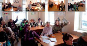 11 февраля 2017, встреча волонтеров с руководством приюта Щербинка по инициативе ОД
