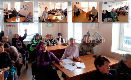 11 февраля 2017, встреча волонтеров с руководством приюта Щербинка по инициативе ОД «МЫ ВОЛОНТЕРЫ!»