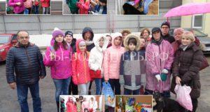 Школьники ГБОУ Школа №1883 в гостях в приюте Щербинка