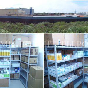 Оборудован склад для хранения вет. препаратов -  впервые в приюте Щербинка