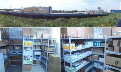 Оборудован склад для хранения вет. препаратов —  впервые в приюте Щербинка