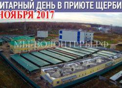 Внимание! 14 ноября (вторник) 2017 в приюте Щербинка санитарный день — ремонтные работы