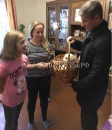 Владимир Путин подарил школьнице из Брянской области щенка лабрадора