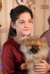 Школьница из Приморья получила в подарок от Путина щенка