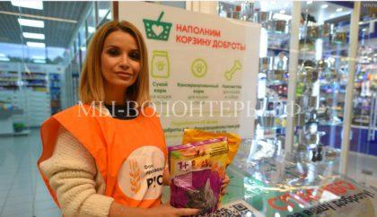 В Москве и Московской области стартовала благотворительная акция «Корзина доброты»