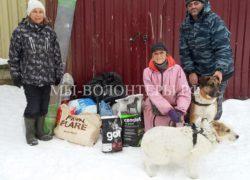 Спасибо Григорию («Эковывоз») за помощь приюту «Щербинка»