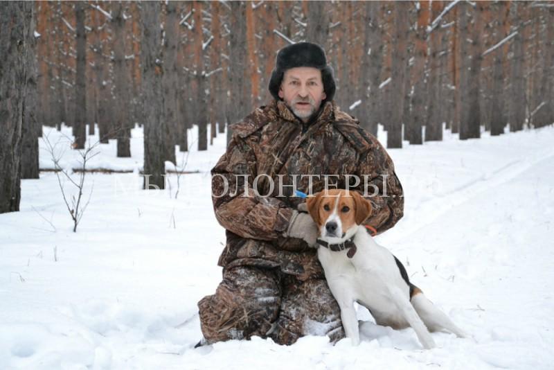 Русская гончая спасла заблудившуюся в лесу женщину